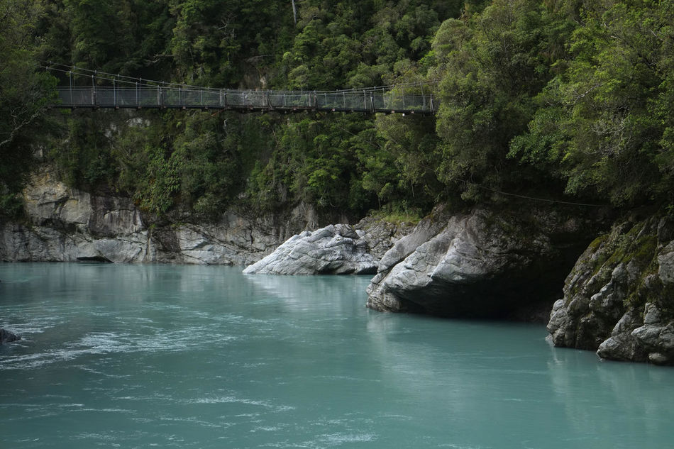 Nils Nowacki - New Zealand - 2016 Beauty In Nature Bridge Day Hokitika Gorge Landscapes Landscapes With WhiteWall Nature New Zealand New Zealand Scenery Nils Nowacki NZ Outdoors River Rock - Object Rocks And Water Scenics Thiscouldbenewzealand Tranquility Trees Turqoise Water Water Nils Nowacki The Great Outdoors - 2016 EyeEm Awards The Great Outdoors With Adobe