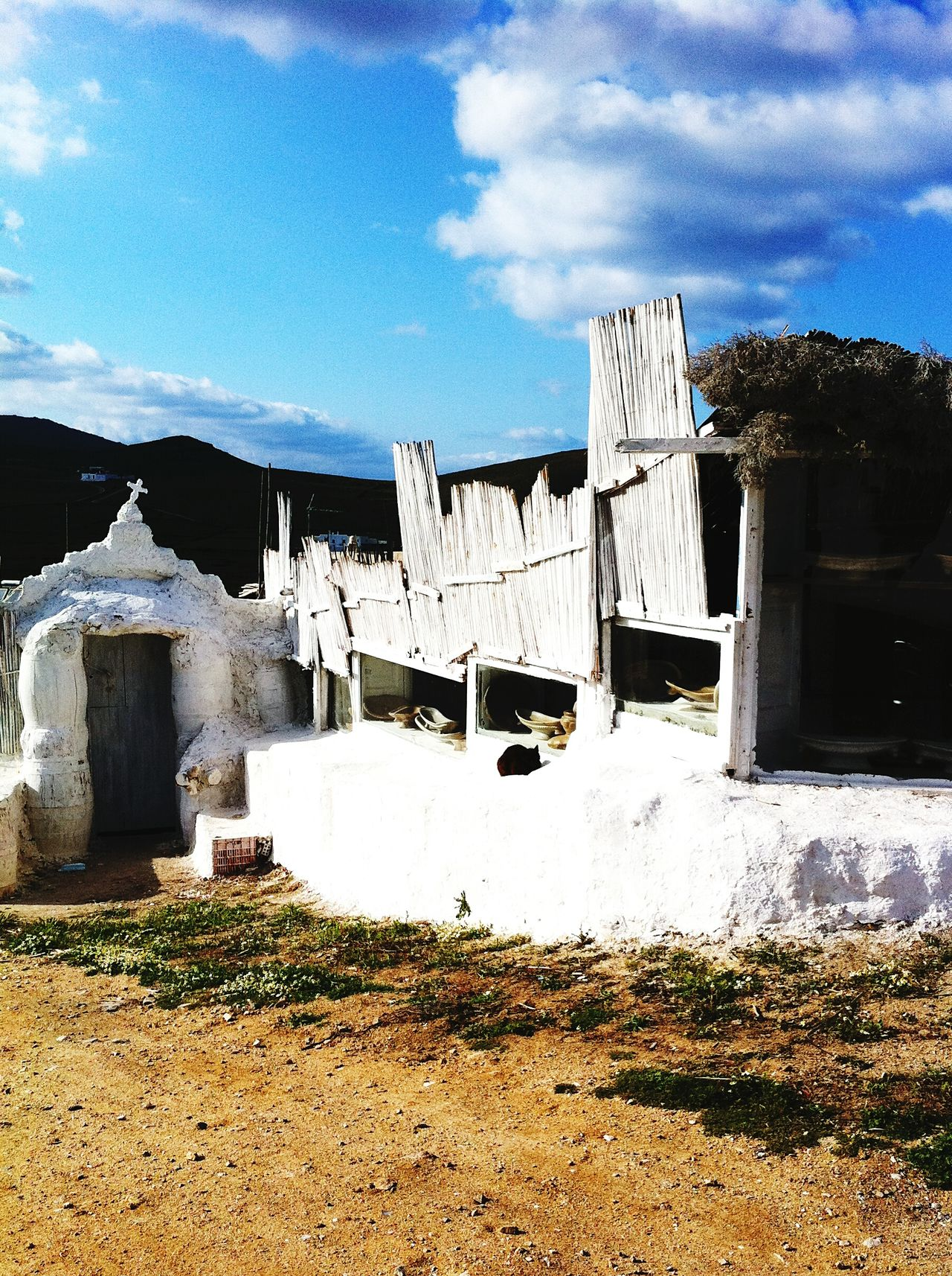 Village Mykonos Greece House Holiday Outdoor Photography