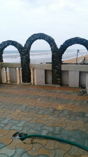 A View Of Bay Of Bengal At Gopalpur