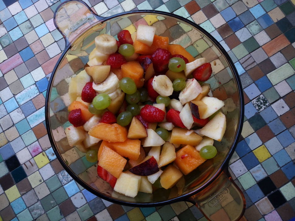 Fruit Fruitsalad Enjoying Life Mix Fruit Colours Nofilter No People Springtime