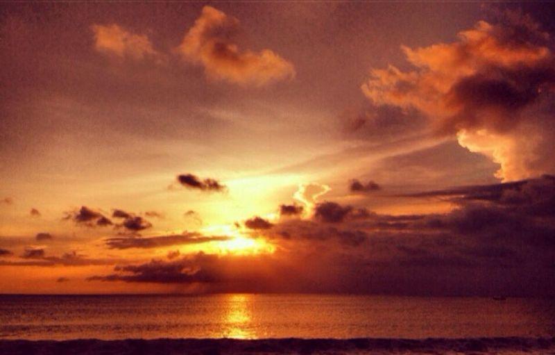 Today The Hello World Jimbaran sunset