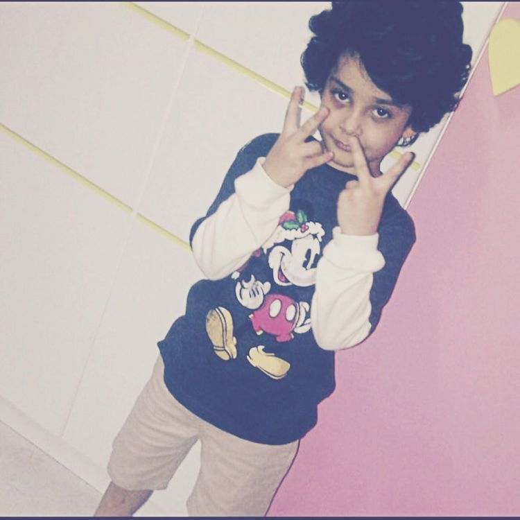 My Little Brother ❤ in Saudi Arabia Makkah