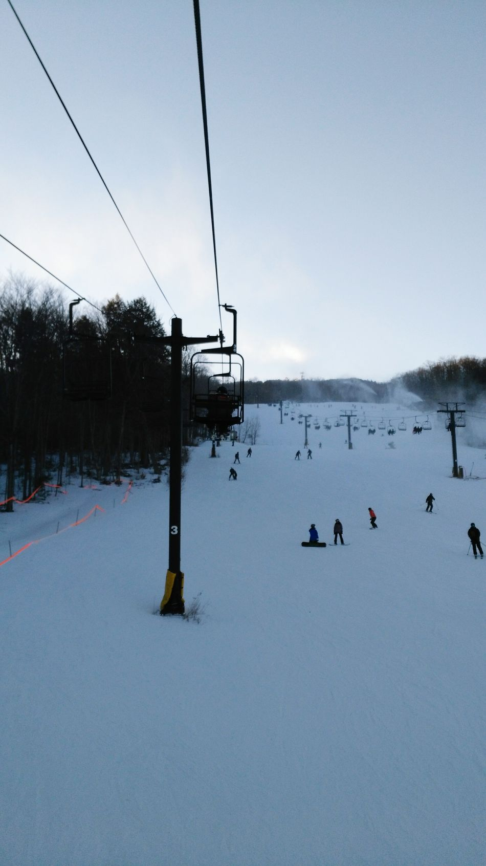 Winter Snow Cold Temperature Nature Frozen Sky Outdoors Beauty In Nature Day Landscape Ski Lift Overhead Cable Car No People