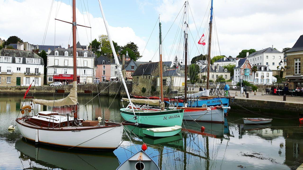 Bateaux Boats⛵️ Sea Harbor No People Multicolor Port De Saint Goustan Auray Morbihan (56) Bretagne France