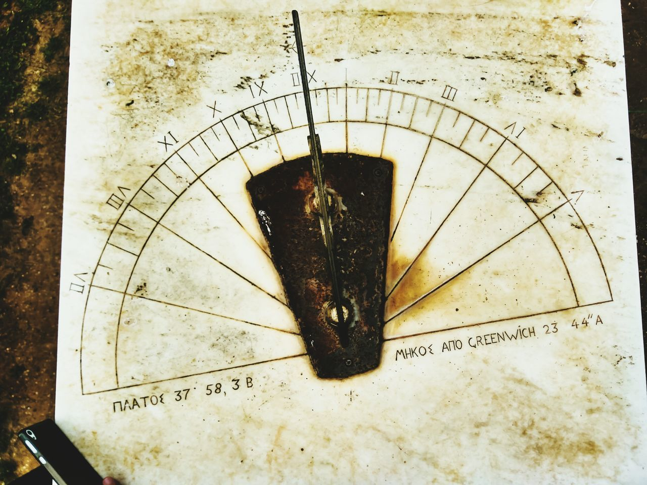 Old Clock Historical Clock No People Day Outdoors Close-up History Nature Pattern Texture Textured  Beauty In Nature EyeEm Nature Lover EyeEm Best Shots Nature_collection Architecture Smartphone Photography High Angle View Roman Numeral Marble Geometric Shape