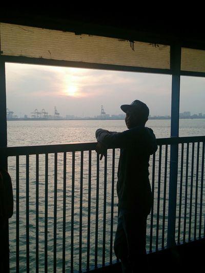 Boat Ride Sun Enjoying Life