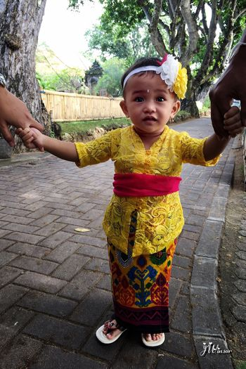 Pry day with family Real People Childhood Outdoors Full Length Happiness Tropical Climate Bali, Indonesia Close-up Smiling Street Happiness Portrait Lifestyles