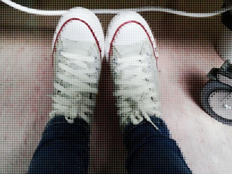비오느날 개시한 새 신발 新鞋 #운동화 #New Shoes