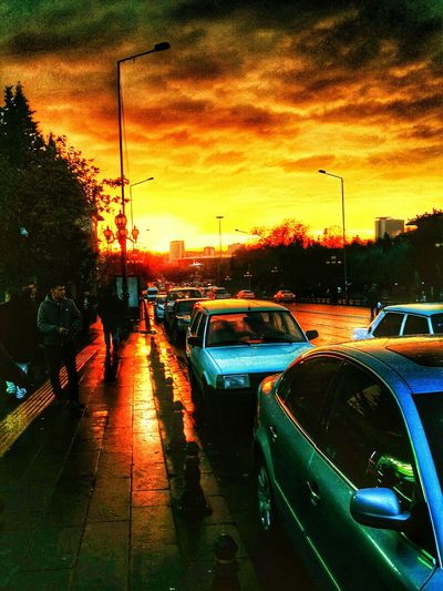 Sun Ankara Orange Gunbatimi Photo Like4like Turkey Samsung Galaxy Note 3 Like EyeEm