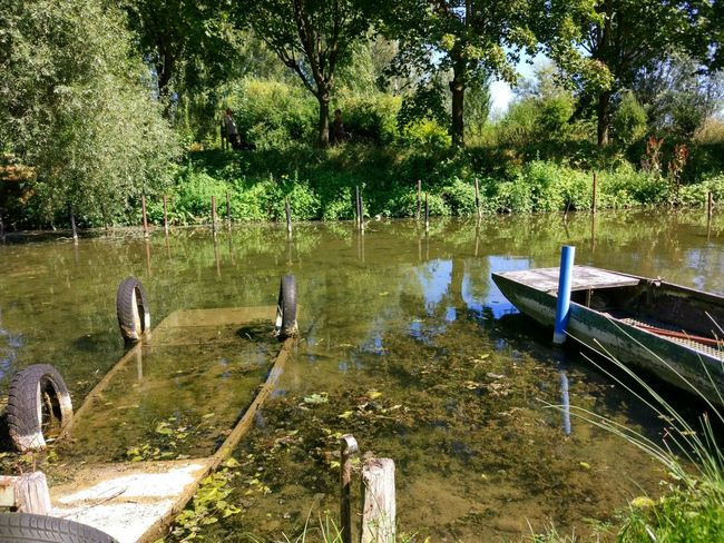 Fishing Landscape_Collection Summer2016 Enjoying Life Bucolic Place The Essence Of Summer EyeEm Best Shots Eye4photography  Eyeemphoto Relaxing Abandoned Places Boat Clear Water