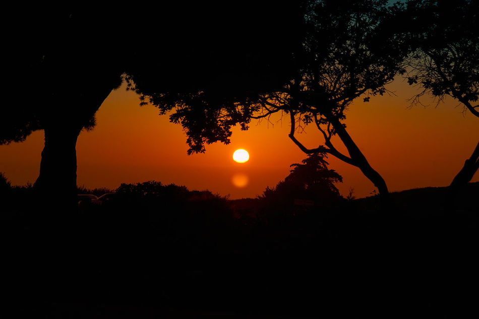 Atmospheric Mood Dramatic Sky Glowing Light Marcokleinphotography Orange Scenics Silhouette Sky Sunset