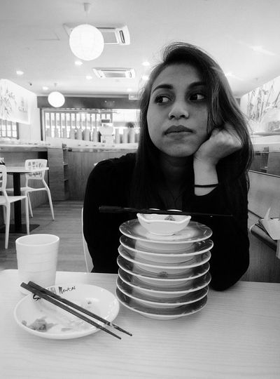Thinking of the next plate.. Sushi Love First Eyeem Photo