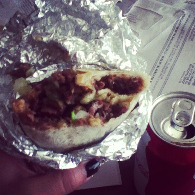 Thanks for the bomb burrito! ?@ _thomassss Yuuumm