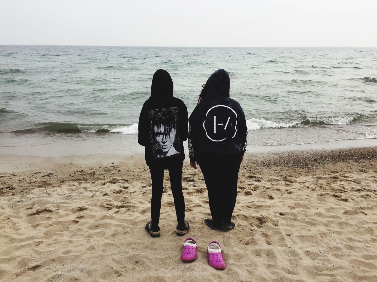 Another one of my cousin and I the day after a concert Lakemichigan Concert Andyblack TwentyOnePilots Cousins  Lake Pretty Wisconsin EyeEmNewHere EyeEmNewHere