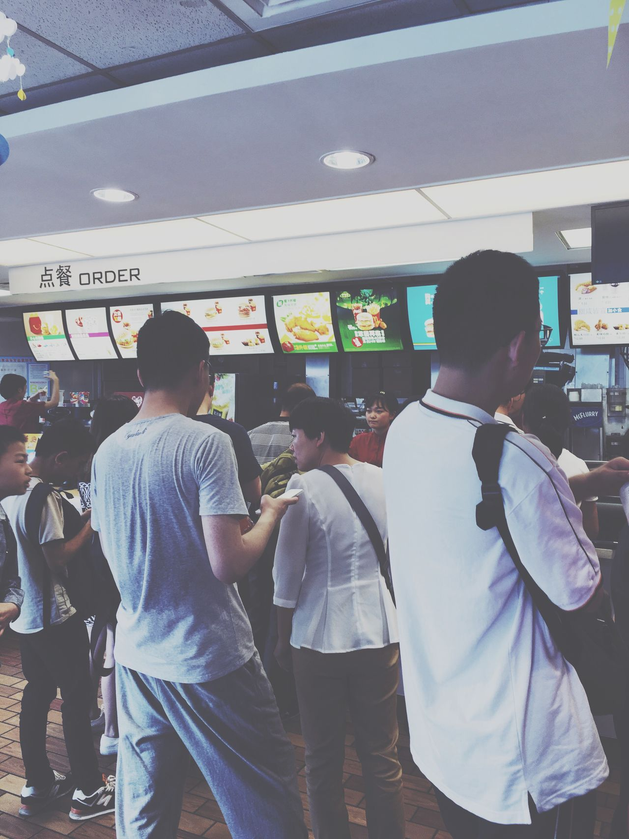 Ordering Food LINE
