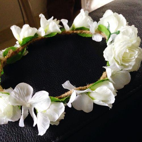 Flower crown:)