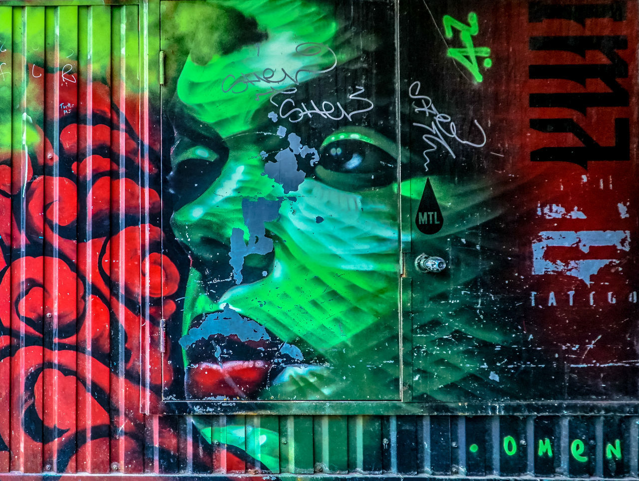 Graffiti town 18-105mm Art Beauty City City Life Faces Graffiti Graffiti & Streetart Graffiti Art Graffiti Wall Graffitiporn Green Color Multi Colored Multicolor Multicolored Multicolors  No People Painting Sony A6300 Street Art Street Art/Graffiti Urban Urban Exploration Urban Lifestyle Walking Around