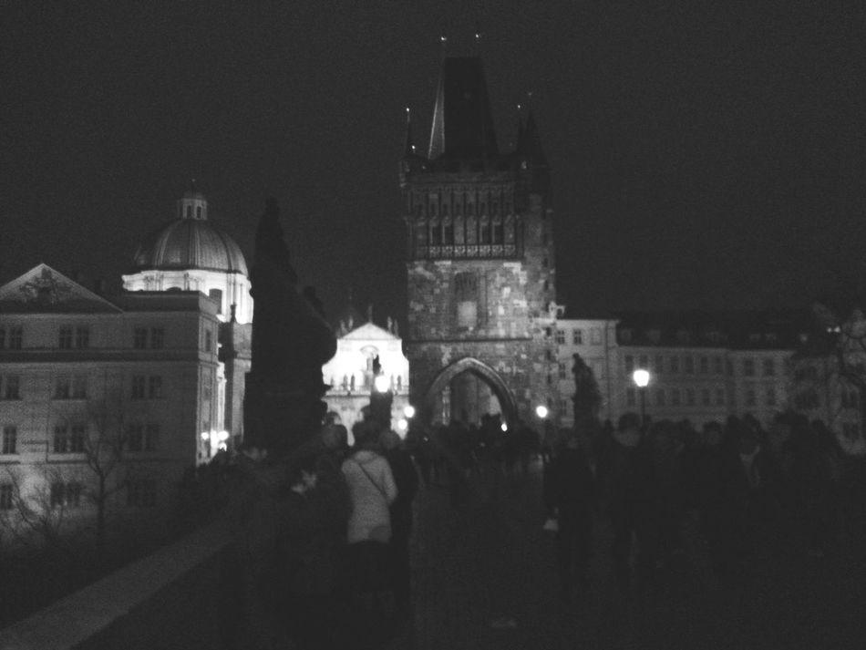 Karlstorbrücke New Years Eve Prague