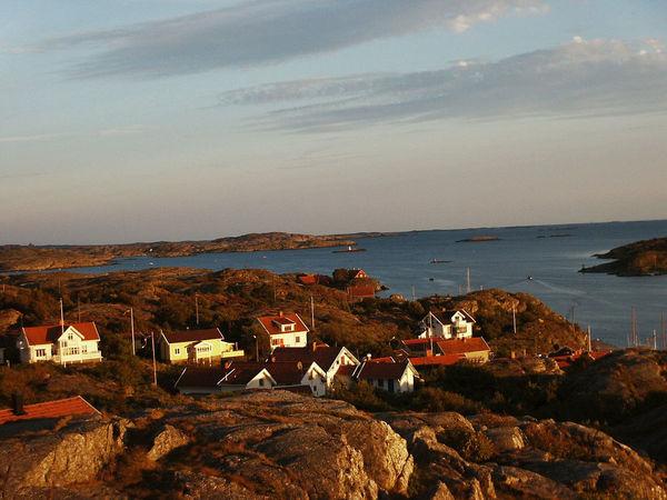 Fjord Horizon Over Water Kyrkesund No People Rock - Object Schweden Sea Sweden-landscape Water