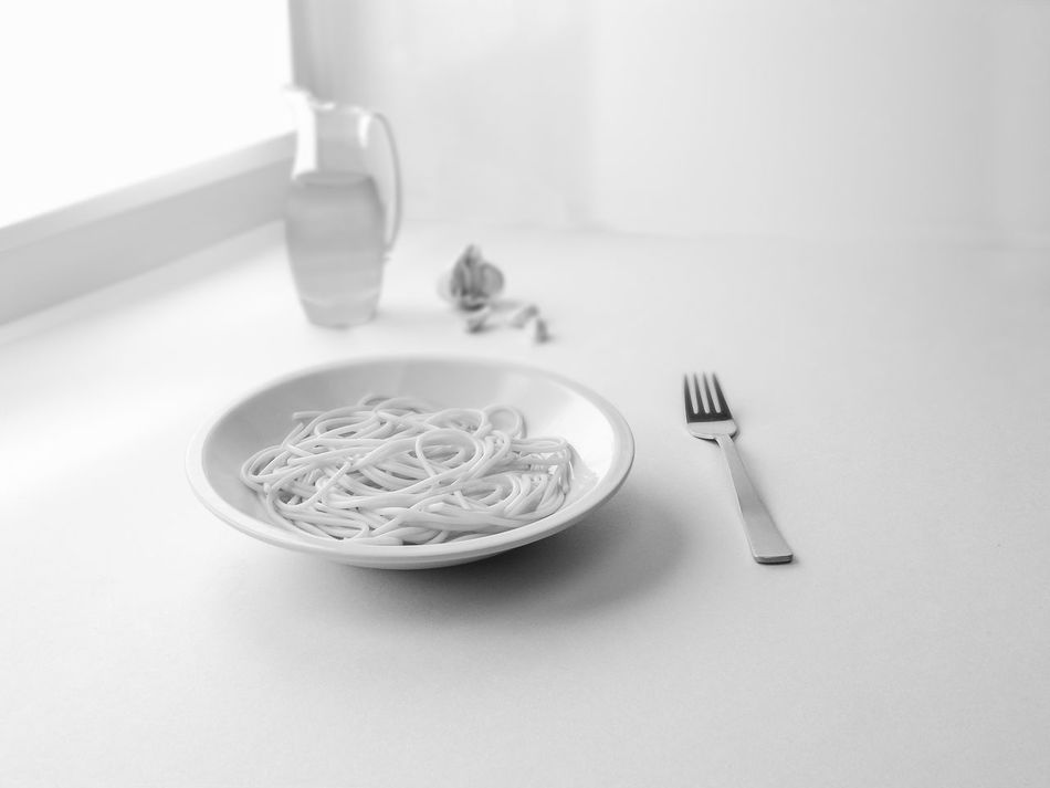 Food Alimentation Black And White Photography Close Up Food And Drinks Garlic Pasta Kitchen Meditmediterranean Cuisine No People Olive Oil Spaghetti Aglio Olio Spices Food Still Life Food Still Life Photograpy