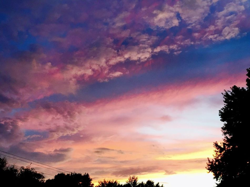Relaxing Enjoying Life Sunset colorful Texture depth