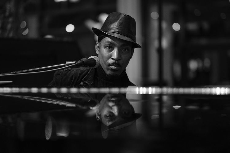 Being a musician is a never ending story. There's always another level as we strive for perfection. Big C aka Curtis singer / songwriter / entertainer 🇺🇸 USA Locals of the World - Macau Singer  Songwriter Entertainer Grand Piano Young Adult Indoors