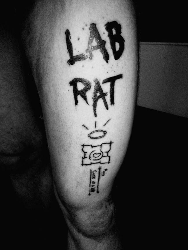 Portal Portal2 Tattoo ❤ That's Me Hi! Enjoying Life Taking Photos Cheese! Relaxing I'm Tattoo Master