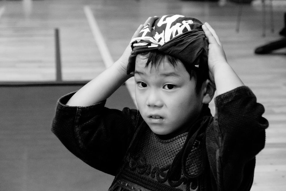 Boy Budo Childhood Cute Elementary Age Front View Head And Shoulders Innocence Kendo Lifestyles Myson Person Portrait Real People Sports Sports Photography Sportsphotography The Portraitist - 2016 EyeEm Awards