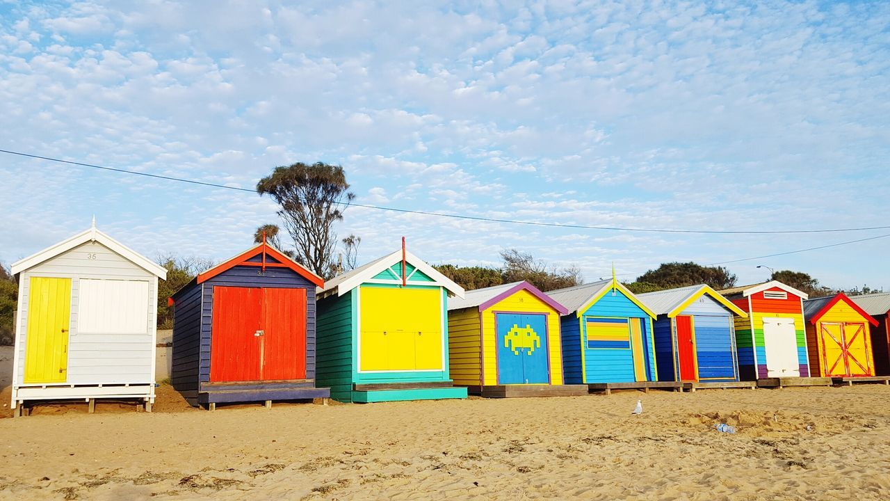 Sunny Day 🌞 Summer Sand Beach Bathing Boxes Summerbliss Travel Destinations EyeEmBestPics EyeEm Masterclass The Great Outdoors – 2016 EyeEm Awards The Great Outdoors With Adobe Perfect Location The Traveler - 2016 Eyem Awards