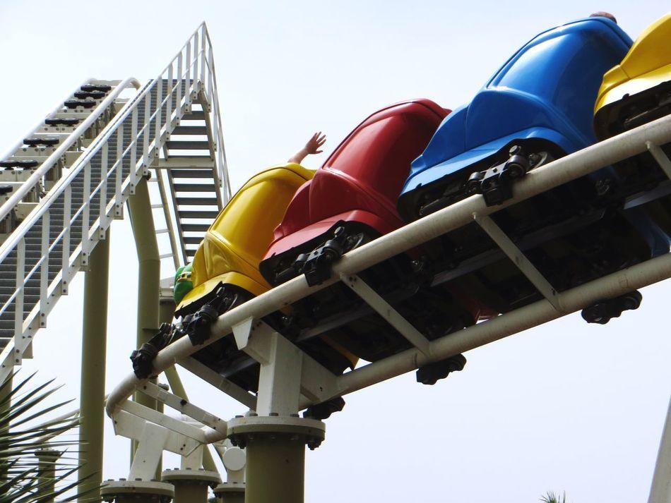 Beautiful stock photos of roller coaster, Amusement Park, Amusement Park Ride, Arts Culture And Entertainment, Blue