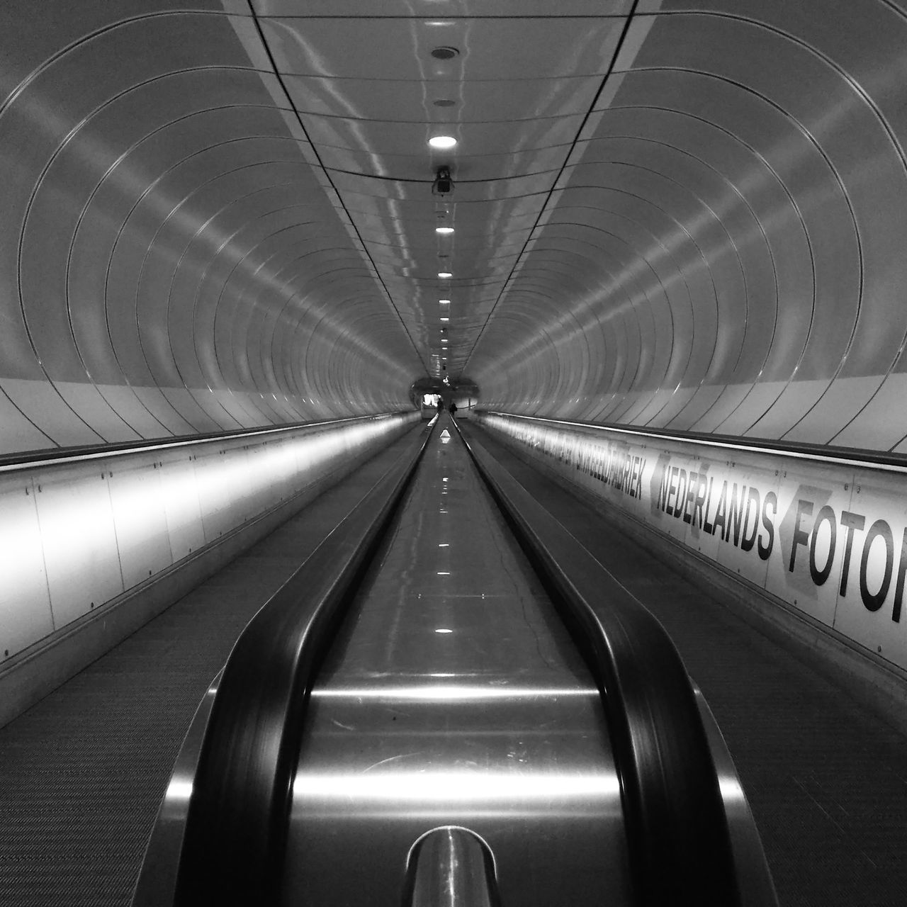 Indoors  Technology Illuminated The Way Forward Futuristic Modern No People Day Tunnel Tunnel Vision Tunnel View