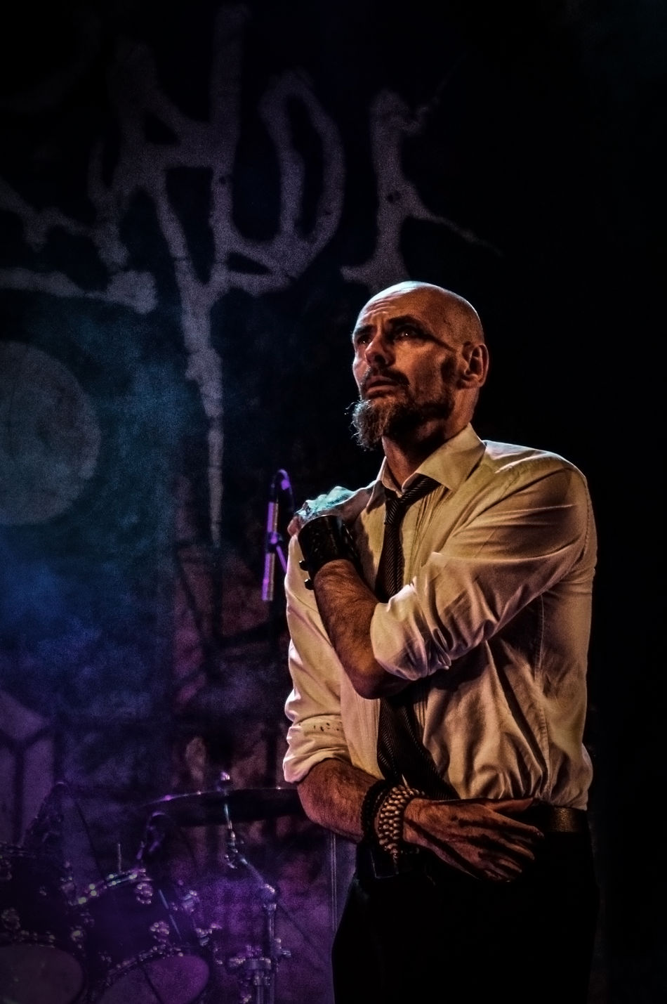 Aaronstainthorpe Artist Concert Photography Doom Metal Emotional Expressive Hands Man My Dying Bride .... Time To Sorrow Person Sweden Rock Festival 2016