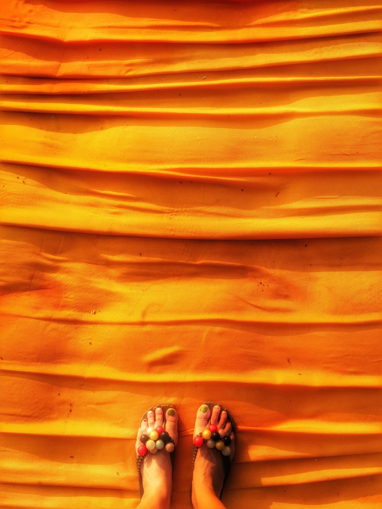 Colour Of Life Floating Piers walking on gold Iseo Lake Italy Christo And The Floating Piers Color Palette People And Places