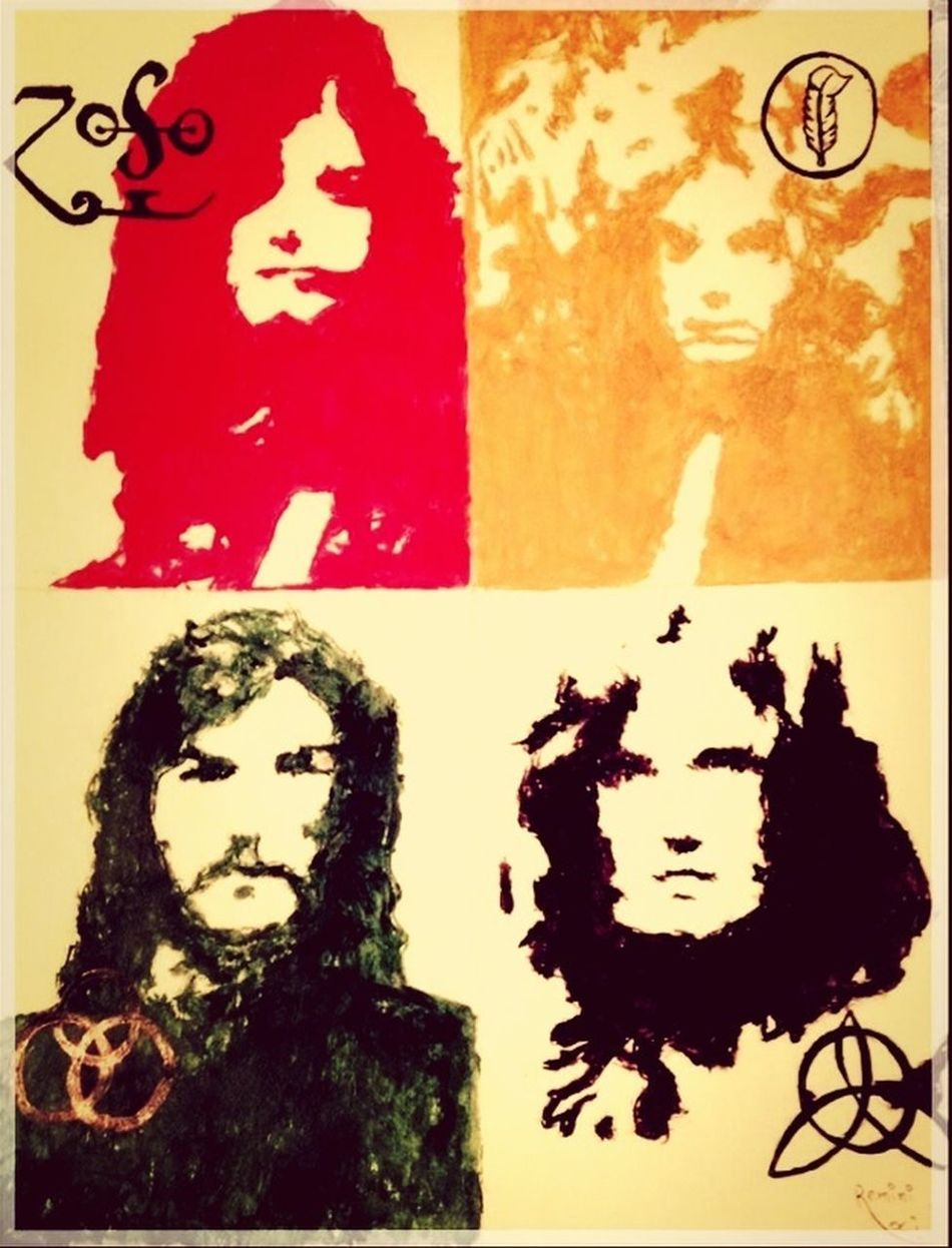 And they're buying a stairway to heaven ... Led Zeppelin Rock Rock N Roll Legend