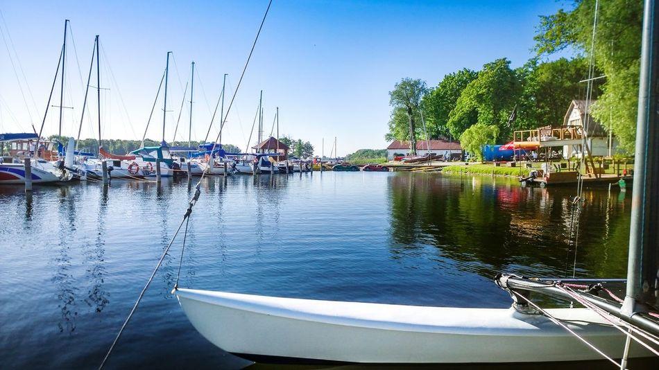 Mysliborz Poland Taking Photos Lumia Nokia  Lumia1020 Sunny Day Mobilephotography Blue Sky Lake