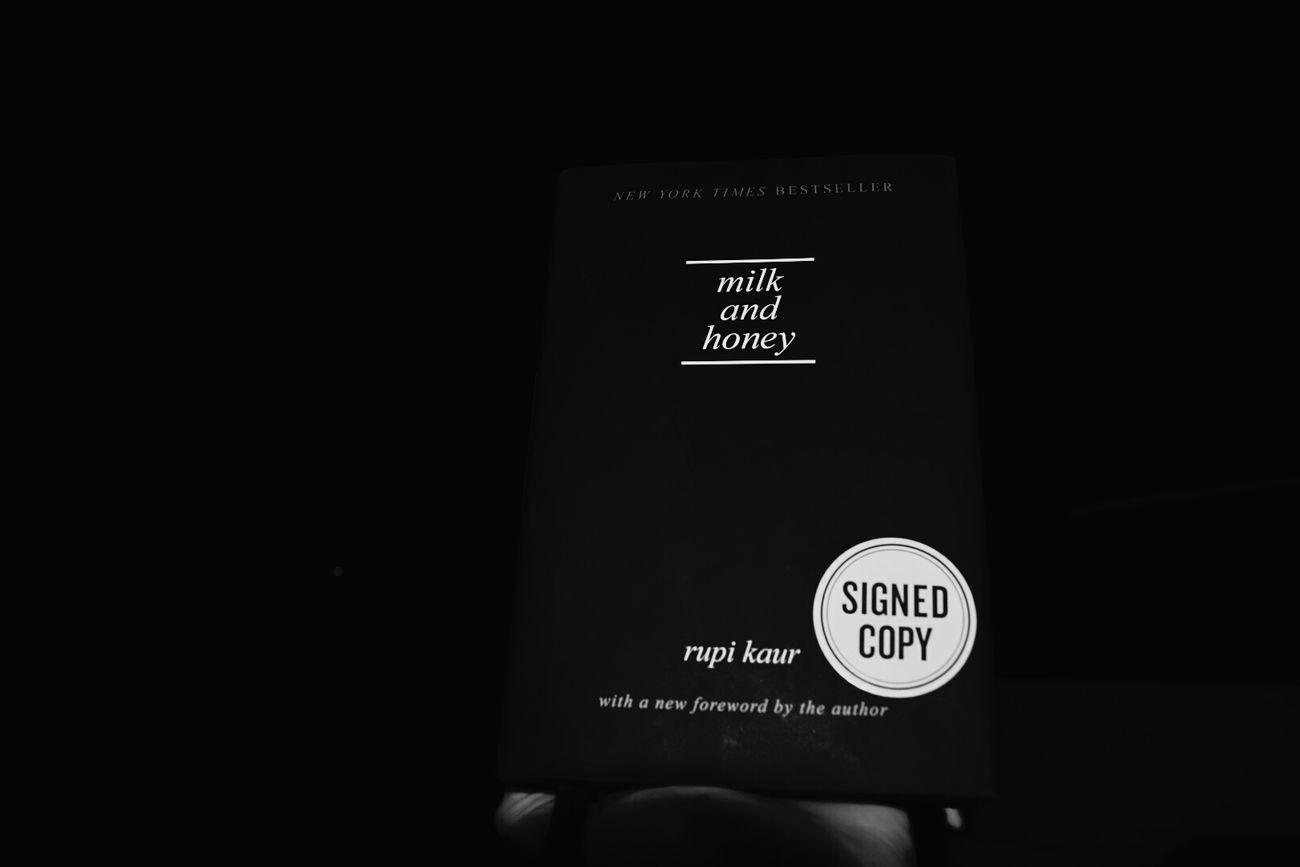 ♥✨ Milkandhoney EyeEm Rupi Kaur Books Emotional Roller Coaster Amazing Bookstagram