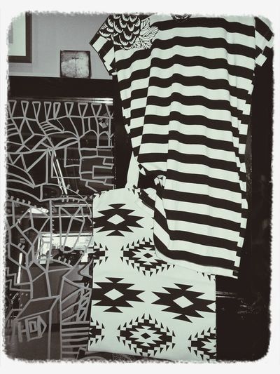 stripes of the day Bag Textilebag Stripes Dress