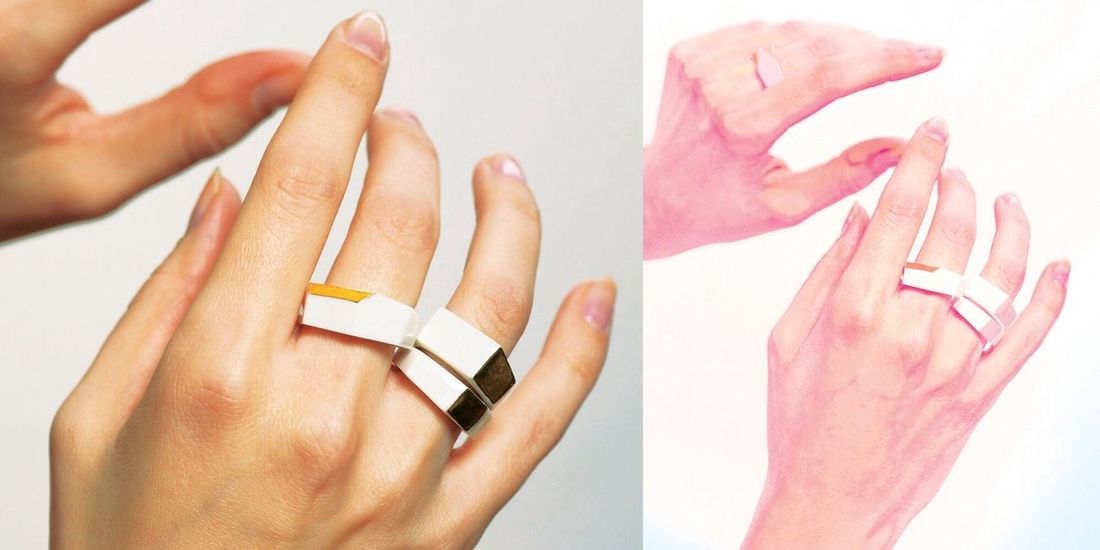 """Taking Photos Art Jewellery Check This Out photo by Andrey Kulpin, porcelain """"Pure Geometry"""" rings"""