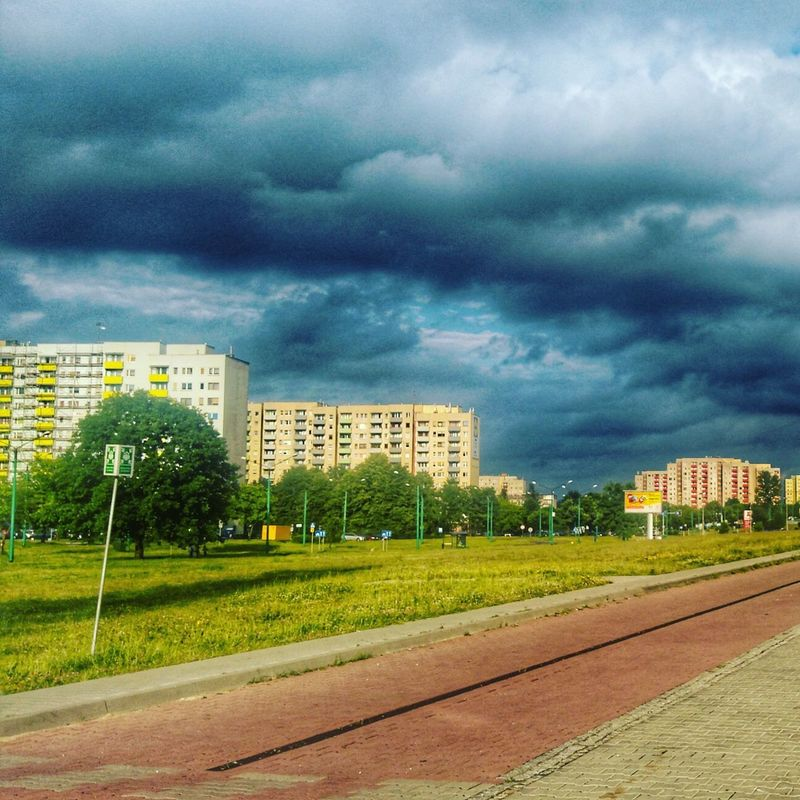 Cloud - Sky Dramatic Sky Storm Cloud Sky City Outdoors Cityscape Urban Skyline HDR Hdrlover Tychy Polska
