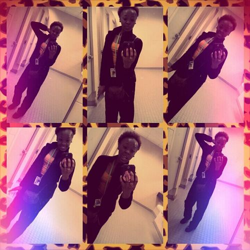 Coolin the other day; School