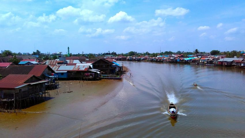 Banjarmasin South Borneo River View EyeEm Indonesia Mobilephotography Mobile Photography Landscapes The Places I've Been Today Indonesiabagus Enjoying Life