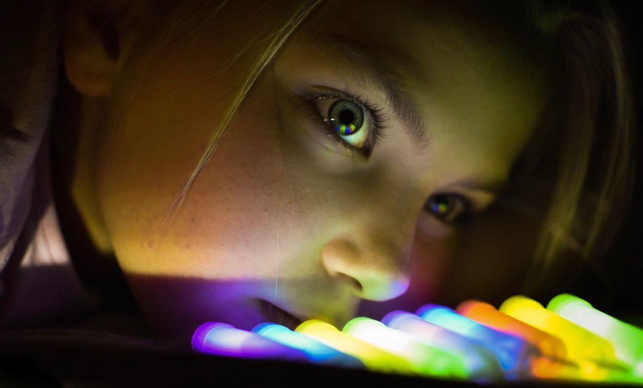 Beautiful stock photos of kids,  10-11 Years,  Blonde Hair,  Blue Eyes,  Close-Up
