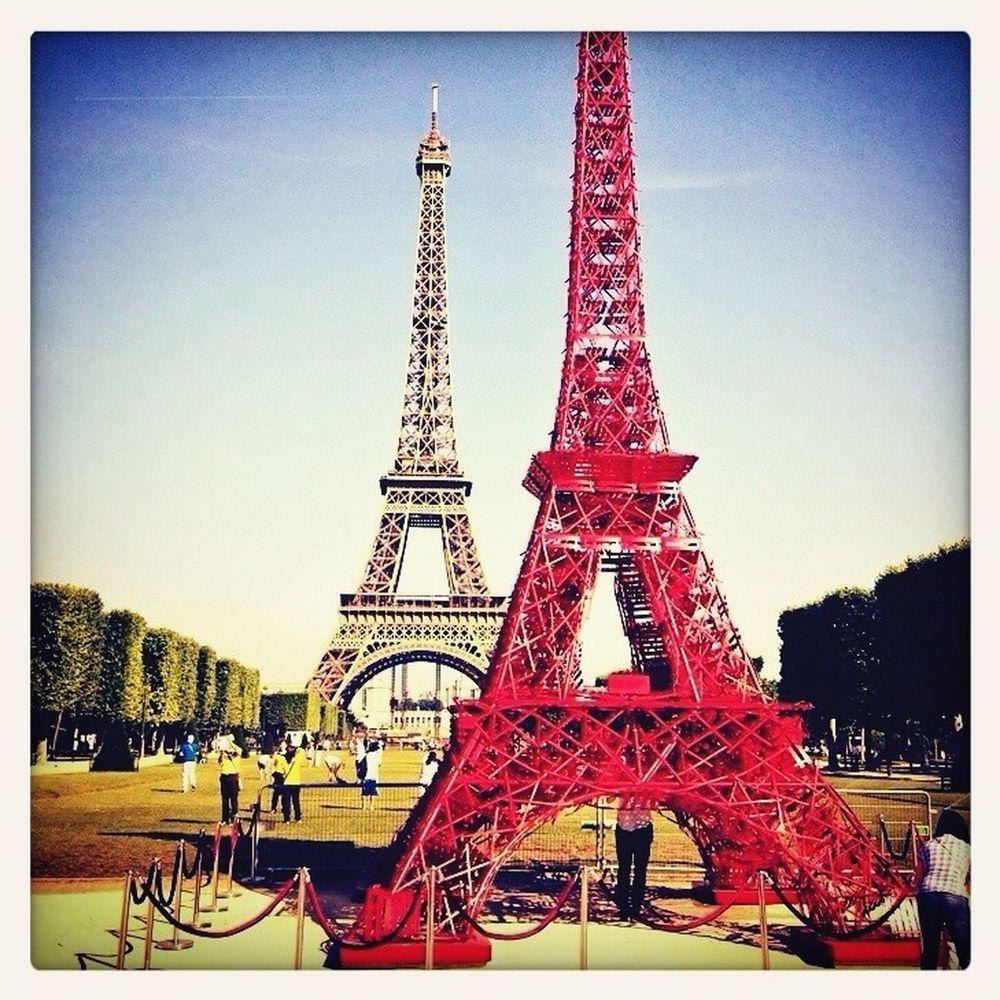 Champ De Mars Tour Eiffel Fermob