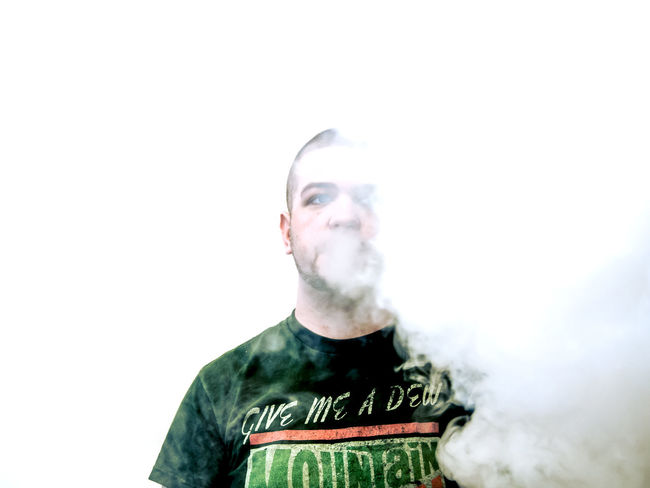 Portrait Vaping