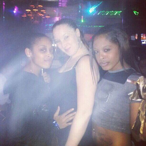 At club Hush wit my girls loves them