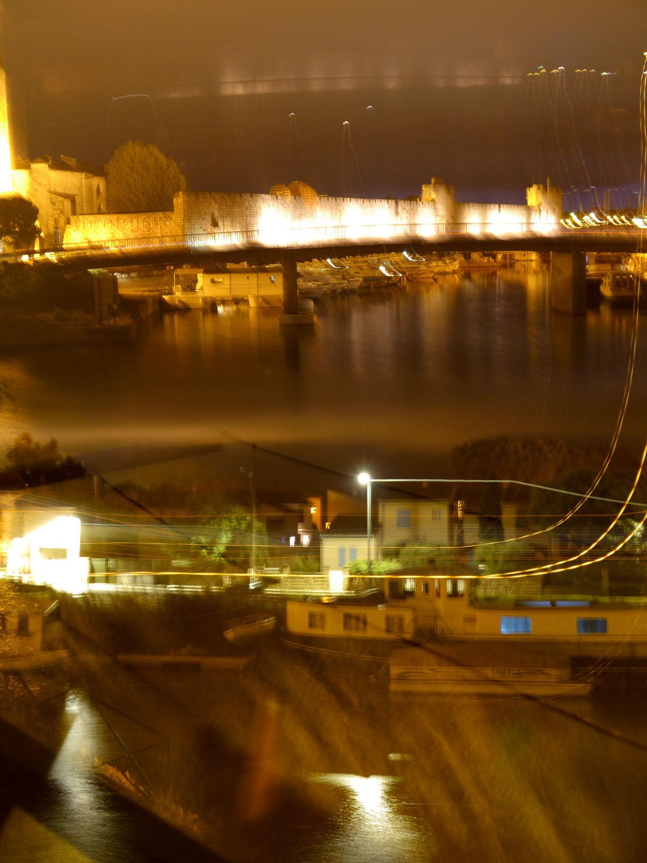 Dark Illuminated Layers Lights LongTime  Longtimeexposure Night Nightshot Outdoors Reflection Sky Water