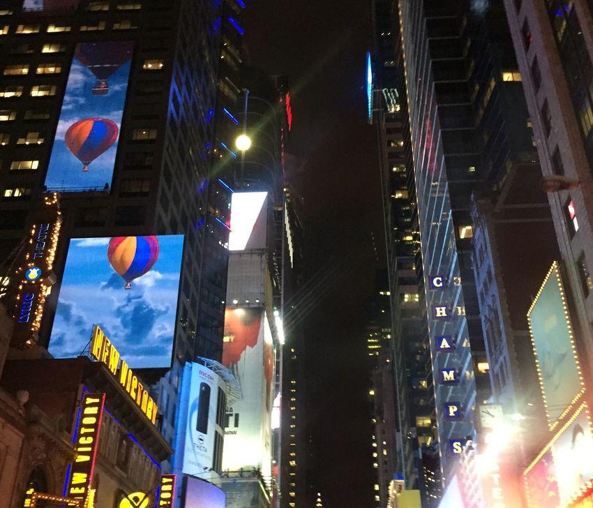 Cities At Night New York City New York At Midnight 42nd Street, NYC
