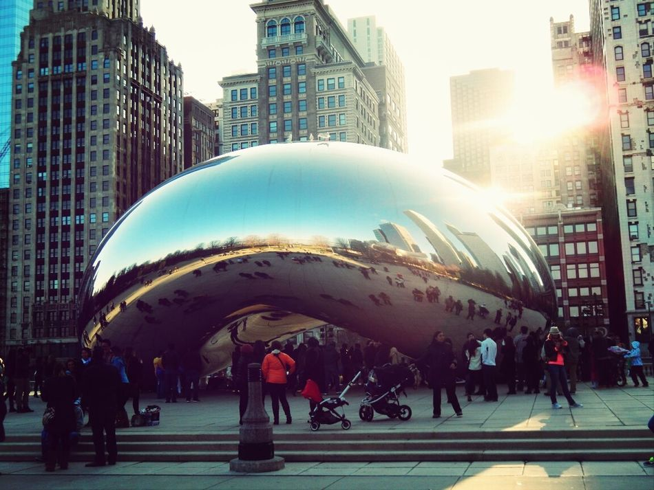 Chicago Thebean Downtown PeopleEverywhere