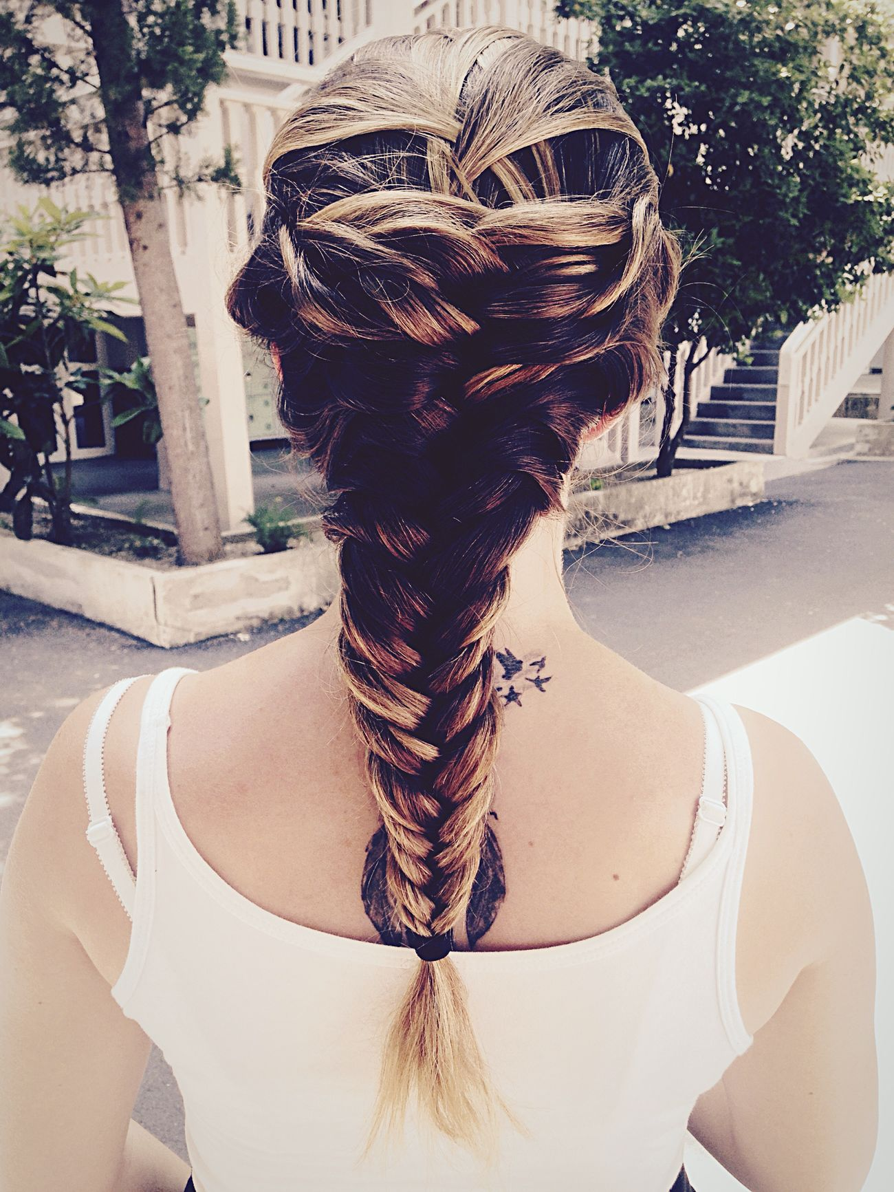 Hairstyle Hair Girl Fishtail Braid Braid