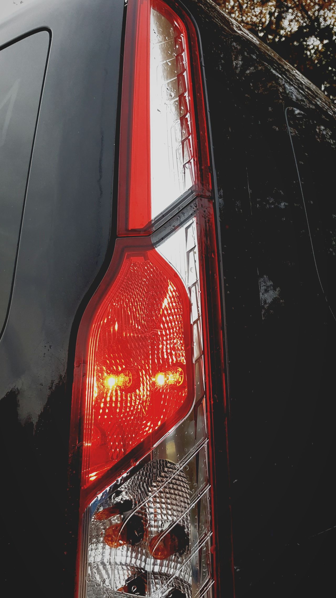 Red Transportation Close-up No People Water Red Light Outdoors Day Brake Lights